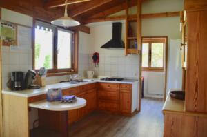 Saskia op Ameland, keuken